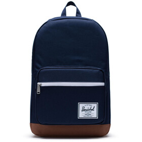 Herschel Pop Quiz Mochila, peacoat/saddle brown